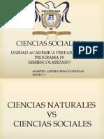 CIENCIAS NATURALES VS CIENCIAS SOCIALES 1C RESP 2.pptx