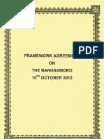Framework Agreement on the Bangsamoro