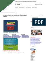 APRENDIZAGEM DO ALUNO COM SÍNDROME DE DOWN _ Pedagogia ao Pé da Letra