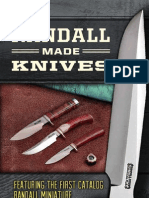 36th Randall Knives Catalog