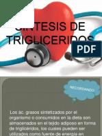 Sintesis de Trigliceridos (1)