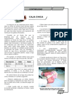 Ficha Informativa de Caja Chcica