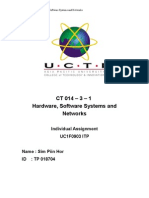 Hardware, Software Systems and Networks