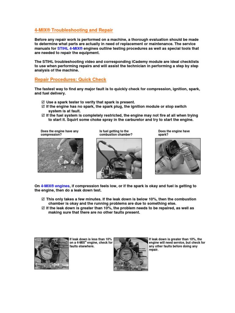 stihl fs 130 manual pdf carburetor throttle rh scribd com Stihl Chainsaw Repair Manual PDF Stihl Chainsaw Repair Manual PDF
