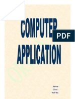 Computer Application Final