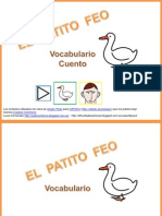 Cuento Patito Feo Vocabulario Pictogramas