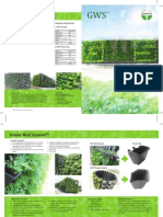 Green Wall System Brochure