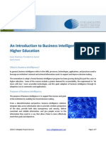 An Introduction to Business Intelligence