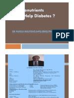 Do Micronutrients Really Help Diabetes