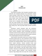 Panduan Penulisan Proposal Penelitian
