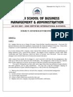 07 Business Environment