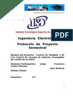 Formato Del Protocolo de Proyecto Semestral