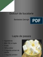 Dulciuri de Bucatarie