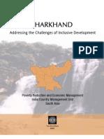 Jharkhand World BanK Report
