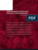 Local Power Structure of Bangladesh.
