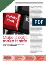 Tce - Make It Right, Make It Safe