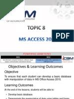 T8 [MS Access 2010]