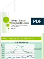 Brazil-greece Economic Relations 2012