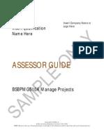Assessors Guide
