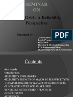 Smart Grid- A Reliability Perspective