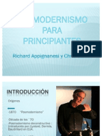 39644860 Posmodernismo Para Principiantes