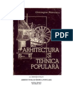 Arhitectura Si Tehnica Populara