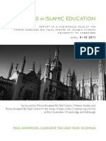 Report - Reforms in Islamic Education FV