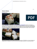 Indian Khatta Dhokla Recipe _ Rice Dhokla Recipe _ Chef in You