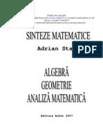 Matematica pentru liceu