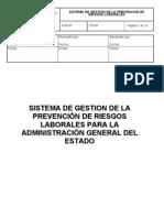 20050406 Sistema de Gestion de La Prevencion en La Admon