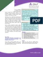 OAK Testing Profile