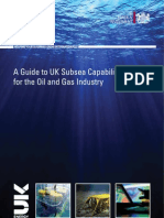 Guide to UK Subsea Capability for the Oil and Gas Industry