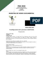 Programa OVNI FIAC México2010 final