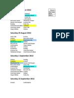 fixtures 2012-2013