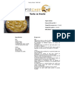 Tarta Cu Fructe - Petit Chef 2