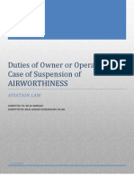 Suspension or cancellation of Certificate of Airworthiness.docx