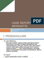 CR Meningitis Teori