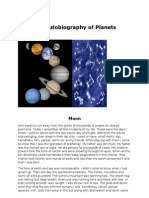 The Autobiography of the Planets