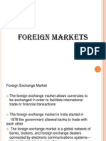 Foreign Markets Final