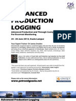 Advanced Production Logging With Dr James Smolen , 24 - 28 June 2013 , KL Malaysia