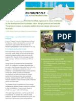 Newsouthwales Urban Design Factsheet