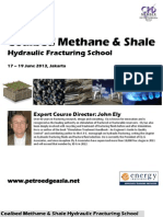 Coalbed Methane and Shale Hydraulic Fracturing with John Ely, 17 - 19 June 2013 , Jakarta Indonesia
