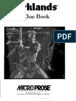 Darklands Clue Book
