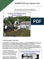 Les 5 Eléments FONDAMENTEAUX pour Organiser Votre Free Party