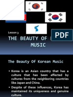 The Beauty of Korean Music
