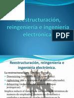 Reestructuración, reingeniería e ingeniería electrónica
