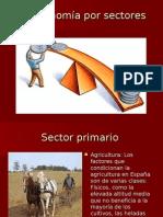 La economía por sectores
