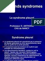 syndrome pleural