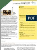 eNewsletter Sanitasi Total Berbasis Masyarakat STBM February 2012