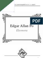 Edgar Allan Poe - Eleonora